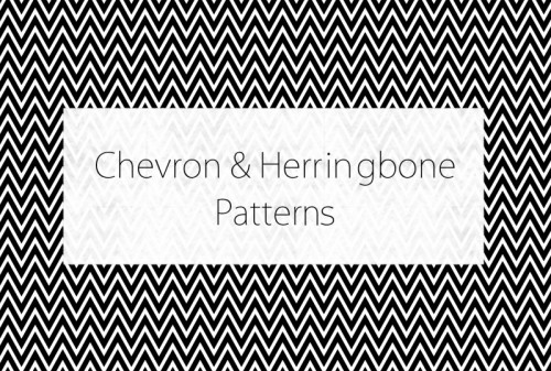Chevron-Herringbone-patterns-set