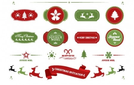 Christmas-labels-and-ribbons-450x286