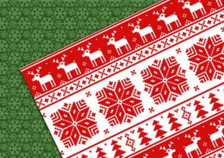 Christmas patterns vector set