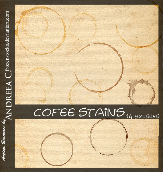 Coffee Stains by -frozenstocks ≫ browse ...