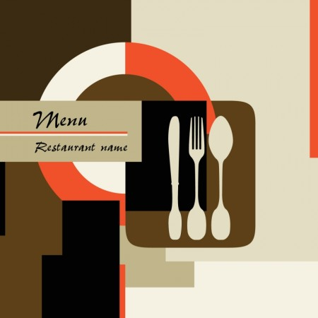 Color menu covers for restaurants vector (1)
