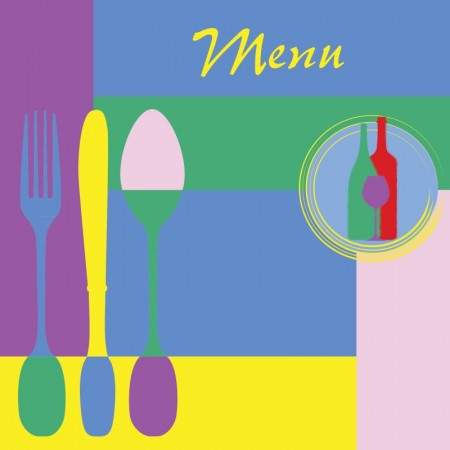 Color menu covers for restaurants vector (2)
