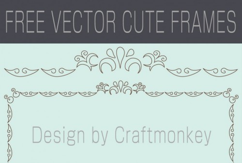 Craftmonkey Cute Fremes