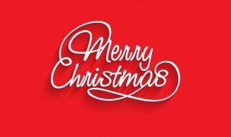 Creative Christmas text logos vector 01