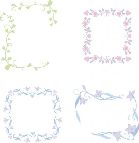 Cute-lace-Frames-and-Borders-vector-set.02jpg-450x461