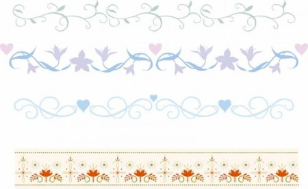 Cute-lace-Frames-and-Borders-vector-set03-450x276
