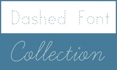 Dashed-Font-Collection-450x272