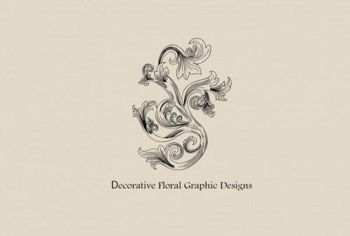 Decorative Floral Graphic Designs