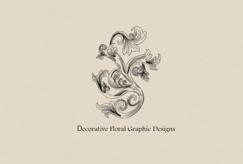 Decorative Floral Graphic Designs