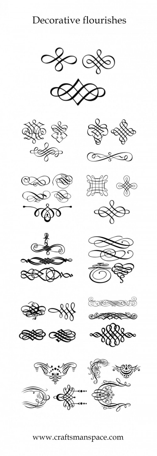 Decorative Flourishes