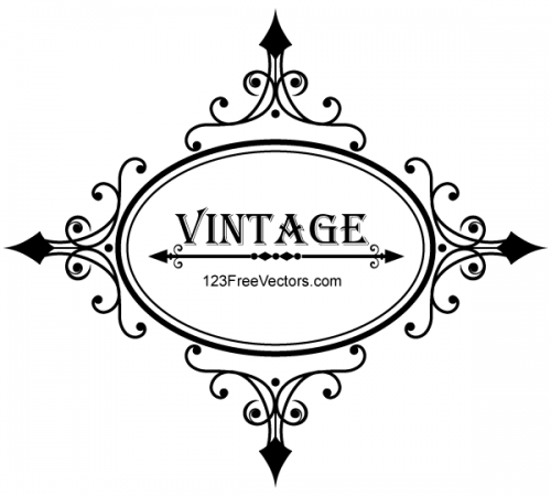 Decorative-Oval-Vintage-Frame-Vector-Graphics-500x450