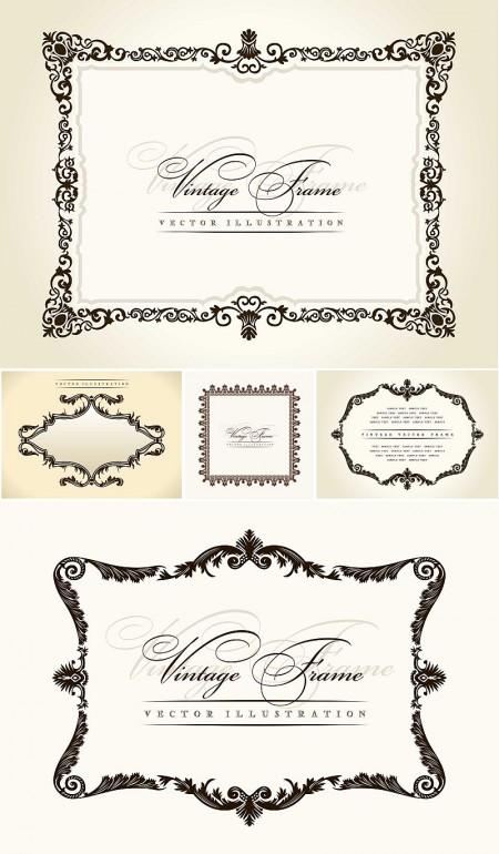 Decorative-Retro-Frames-450x770