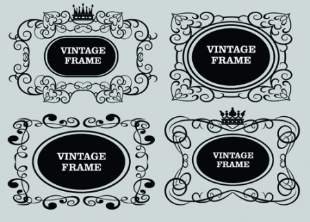 Decorative-Vintage-Frames1-450x323
