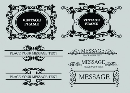 Decorative-Vintage-Frames2-450x323