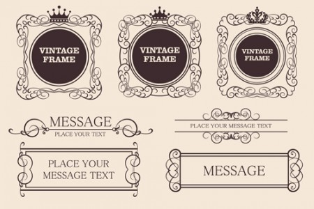 Decorative-Vintage-Frames3-450x300