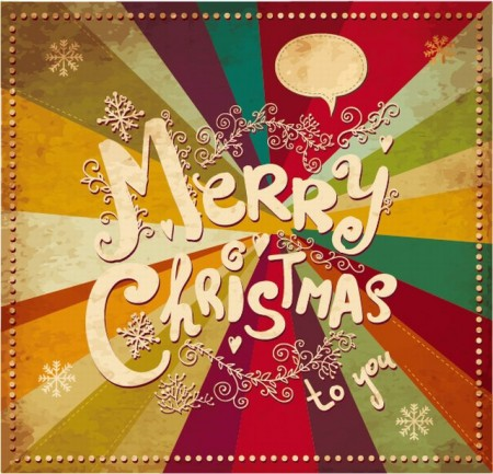 Decorative-vintage-Christmas-decorations-vector-04-450x433