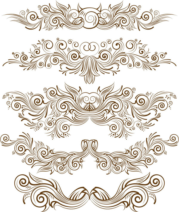 Lines Design Pattern Vector Art