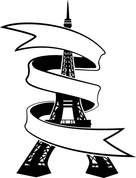 Eiffel-Tower-with-banner-vector-450x588