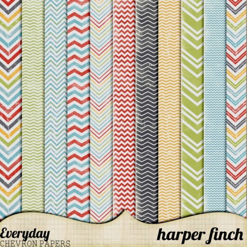 Everyday Chevron Papers by Harper Finch by harperfinch on DeviantArt