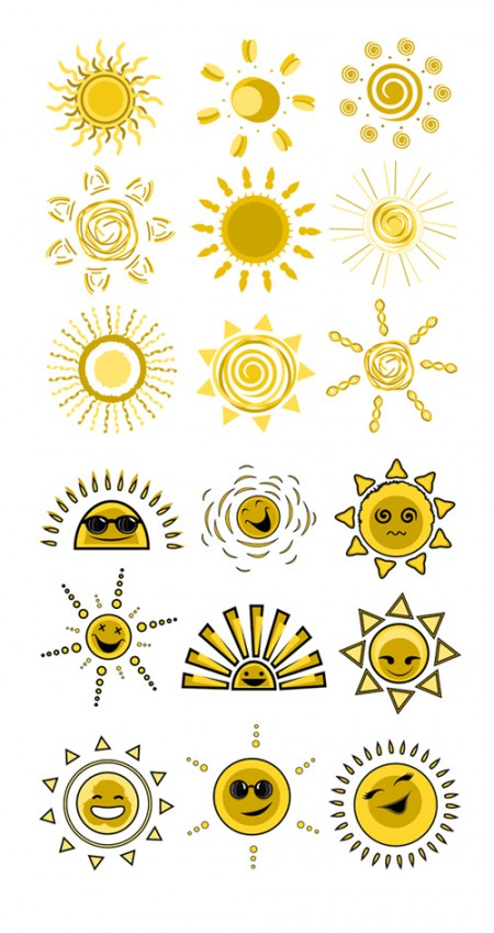 Expression-vector-solar-material-cute-funny2