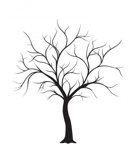 FREE-Wedding-Thumbprint-Tree-Style-Guest-Book-450x525