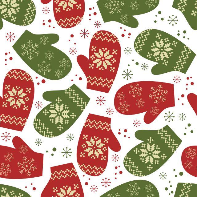 背景素材ラッピングペーパーにレトロなクリスマスのイラスト素材