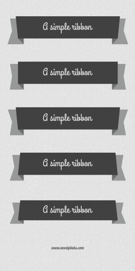 Flat Ribbon