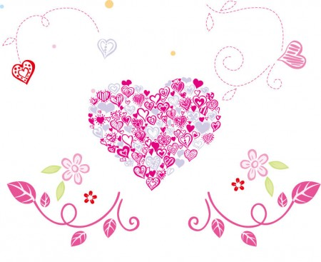 Floral-Love-Heart-Vector-Graphic-450x367