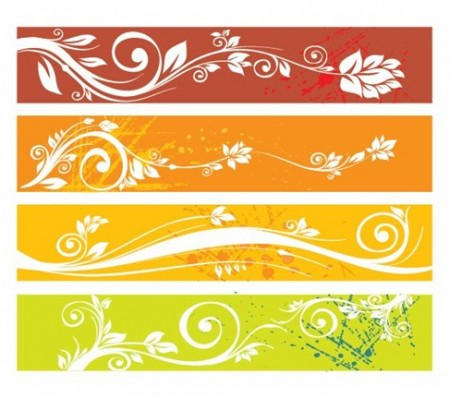 Floral-Website-Banners-Vector-Graphic-450x398