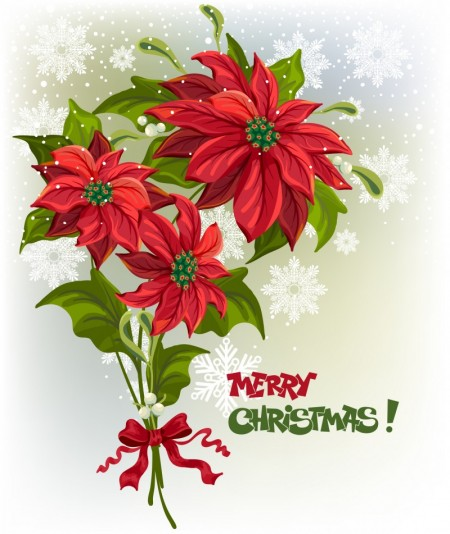 Flower-Christmas-vector-2-450x534