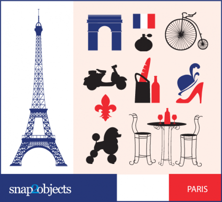 Free City Vector Icons- Paris