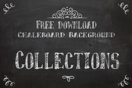 Free Downloadable Chalkboard Background