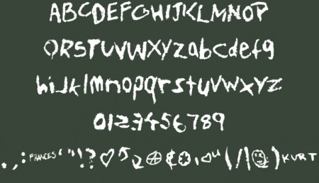 Free-Fonts-teen-spirit-font-450x258