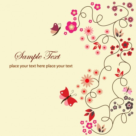 Free-Vector-Floral-Greeting-Card1-450x450