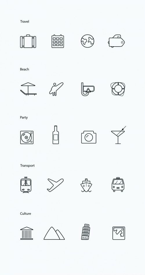 Free Vector Icons on Behance