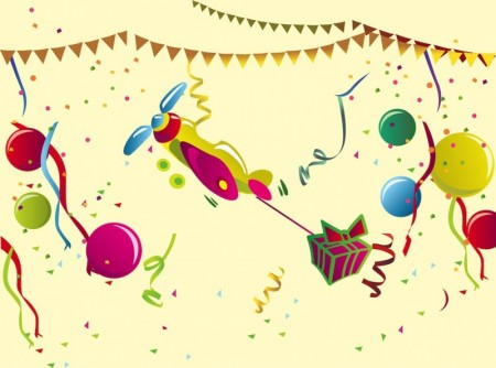FreeVector-Birthday-Party