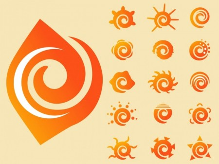 FreeVector-Swirling-Sun-Vectors