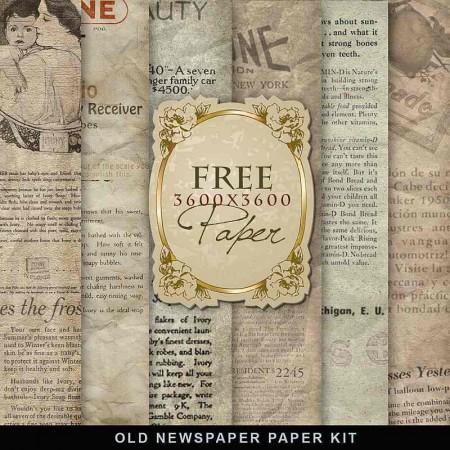 Freebies Old Newspaper 450x450 コラージュ素材が無料ダウンロード出来ます(英字新聞他)   Free Style
