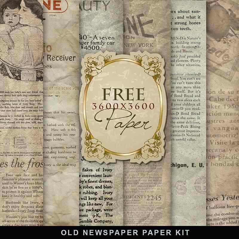 種類の素材からちょっと紹介 : スクラップブッキング無料素材ダウンロード : 無料