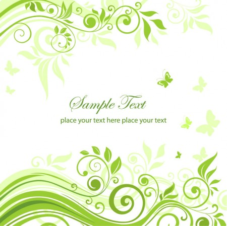 Green-Floral-Ornament-Vector-Graphic-450x449