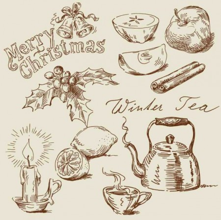 Hand-drawn-vintage-food-Illustrations-vector-05-450x448
