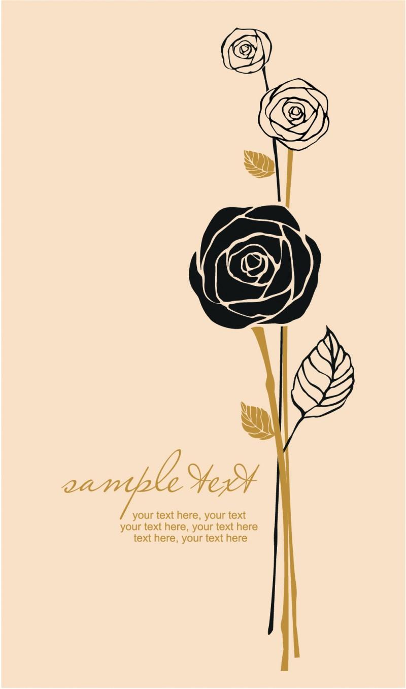 イラスト 薔薇