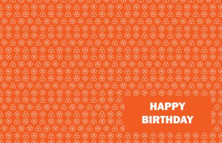 Happy Birthday - Orange 4 by DragonArt