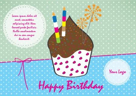 Happy Birthday vector for kids