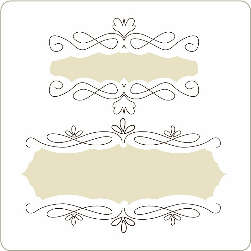 印刷 web 印刷できない : Doodle Frames 1 – Download free vector ...