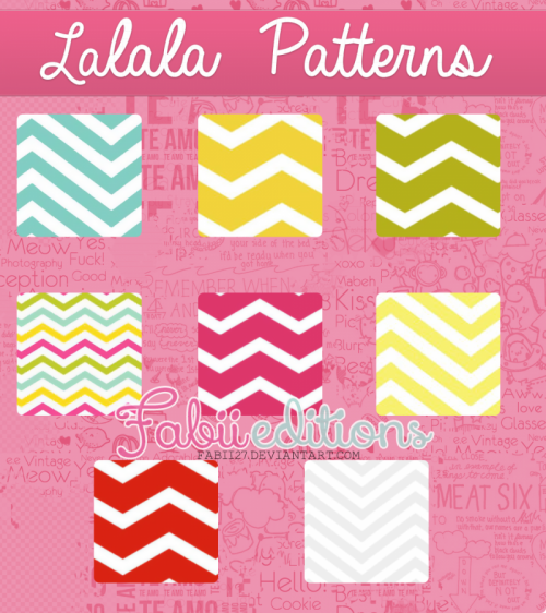 Lalala patterns by fabii27 on DeviantArt
