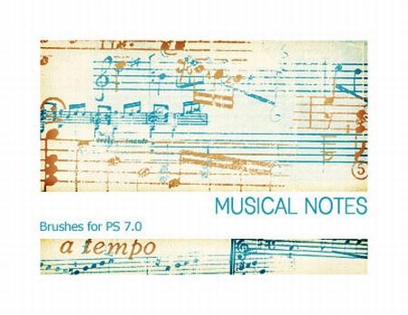 Musical_Notes_PS_7_0_by_Pfefferminzchen