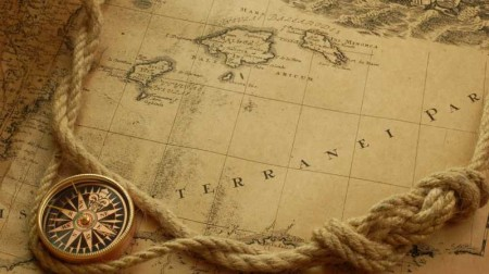 Old map 450x252 ヴィンテージな地図の無料素材いろいろ(VECTOR・PSD・ABRなど)   Free Style