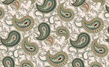 Paisley pattern Seamless vector