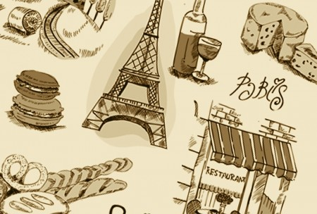 Paris Elements Vector Collection